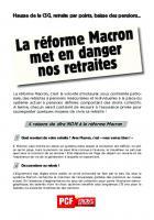 La réforme Macron met en danger nos retraites