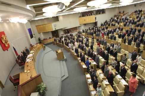 Vote scandaleux du Parlement russe pour briser les femmes